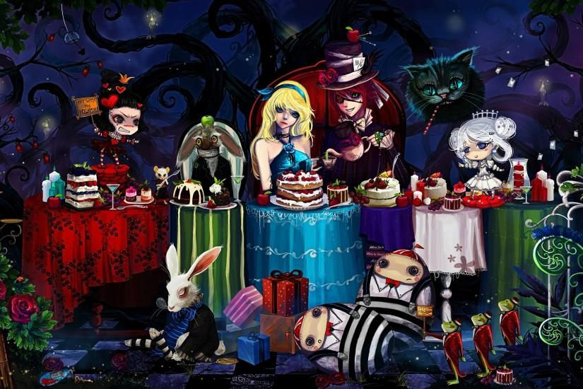 download alice in wonderland wallpaper 1920x1080 mac
