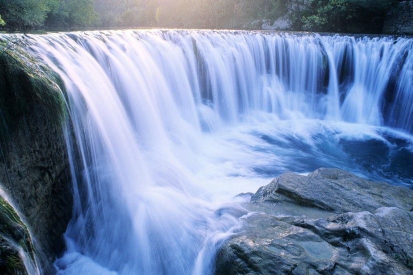 Calming Tag - Waterfall Pretty Nice Calming Background Images for HD 16:9  High Definition