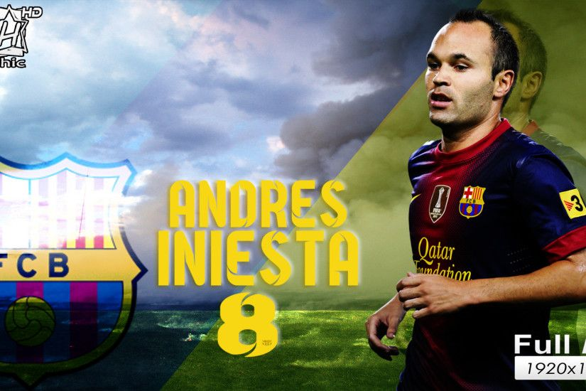 The best football player of Barcelona Andres Iniesta