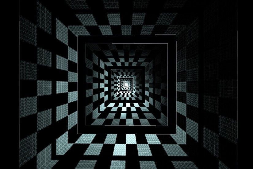 optical Illusion, Square, Abstract, Geometry Wallpapers HD / Desktop and  Mobile Backgrounds