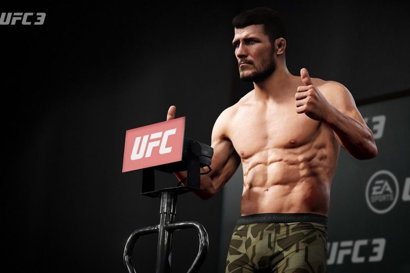 EA Sports UFC 3 PS3 Wallpaper