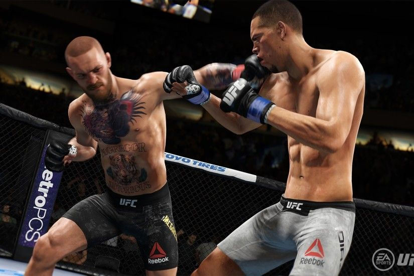 EA Sports UFC 3 PC Wallpaper ...