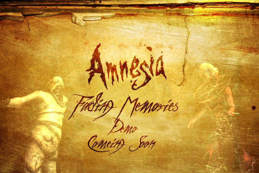 Amnesia: The Dark Descent images Amnesia Wallpaper HD wallpaper and  background photos