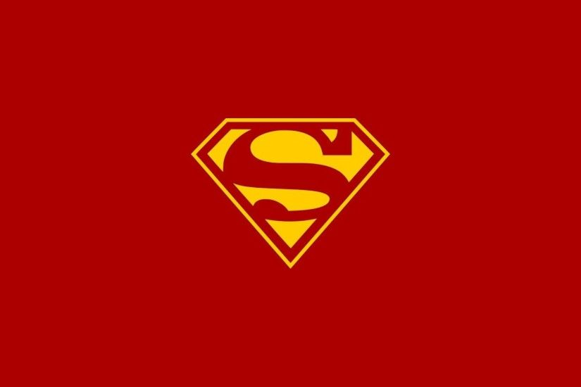 Wallpapers For > Superman Comic Logo Wallpaper