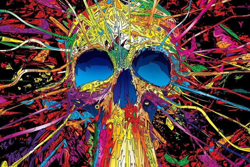 Stylized skull Artistic HD desktop wallpaper, Skull wallpaper - Artistic no.