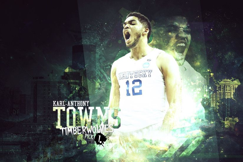 Karl-Anthony Towns Wildcats 2015 1920x1200 Wallpaper