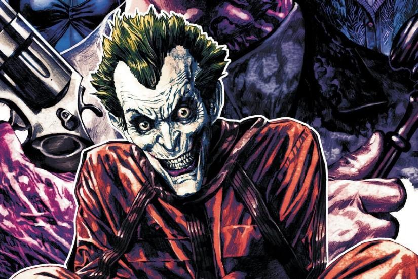 The Joker Comic New Poster Wallpaper Full HD - Comic Wallpapers