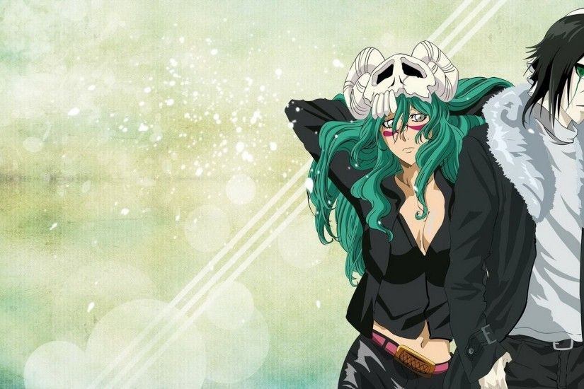 Anime - Bleach Anime Ulquiorra Cifer Nelliel Tu Odelschwanck Wallpaper
