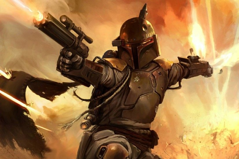 Boba Fett Fcaebook Wallpapers