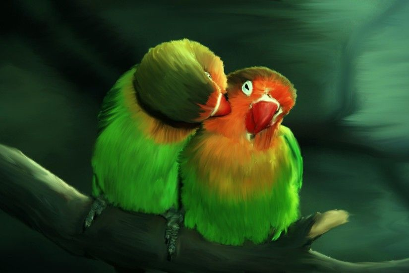 Love Birds Wallpaper (57 Wallpapers)