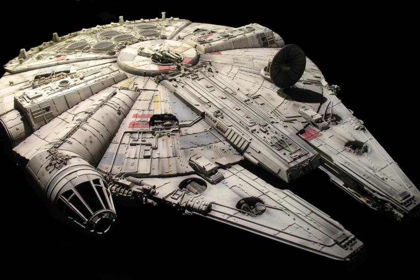 "The Light Freighter ""Millennium Falcon""."