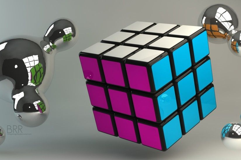 awesome rubiks cube wallpaper