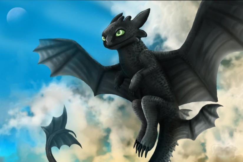 Toothless - Wallpaper, High Definition, High Quality, Widescreen