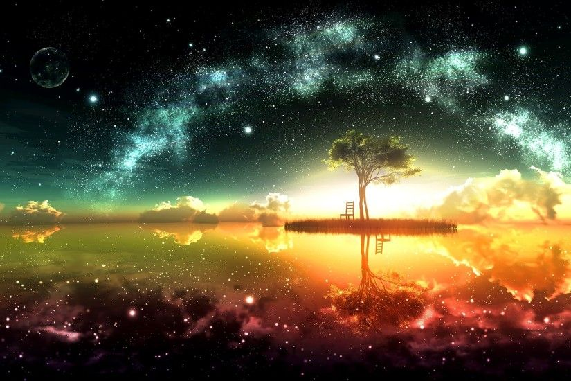 Surreal Space Wallpaper