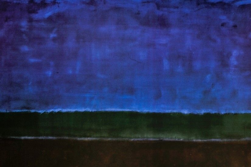 Mark Rothko, Paintings, Art, Abstract Expressionist, Blue, Gree, Brown,