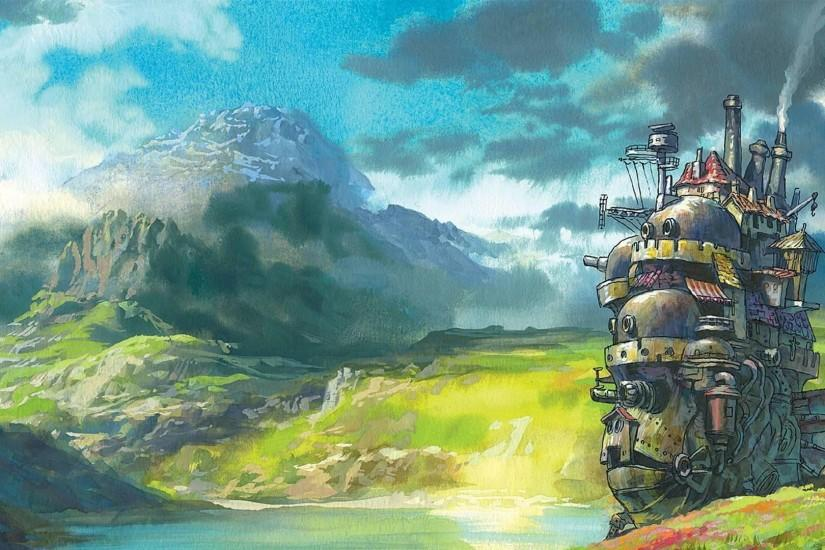 Howl's Moving Castle : wallpapers