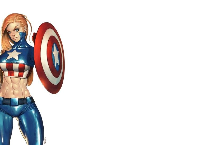 Comics - Captain America Wallpaper