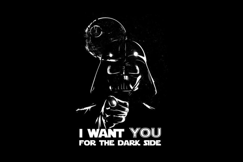 Abstract Black Background Dark Side Darth Vader Death Star Propaganda  Simple Simplistic Spoof Wars Wallpaper
