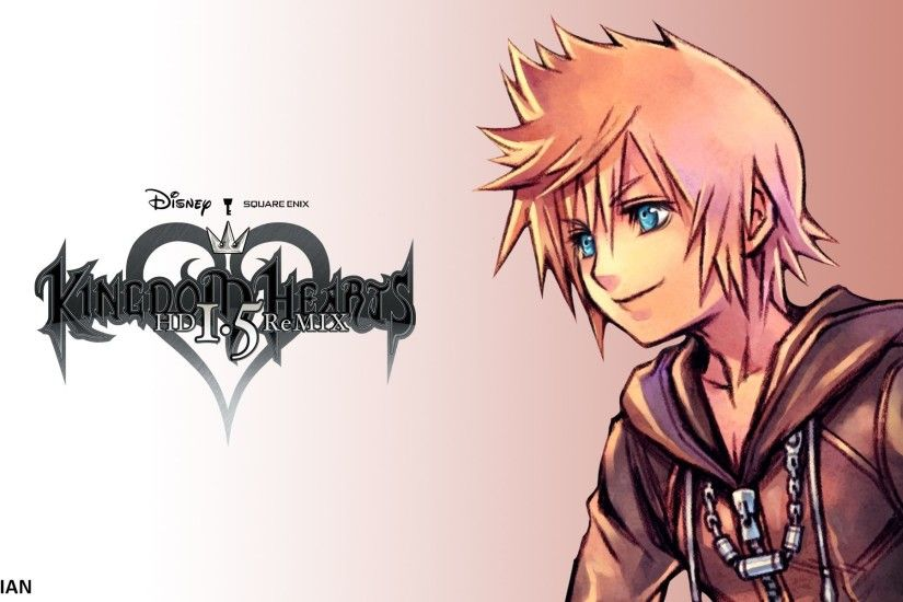 Kingdom Hearts Roxas Backgrounds As Wallpaper HD