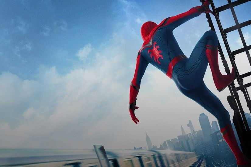 Movie - Spider-Man: Homecoming Spider-Man Wallpaper