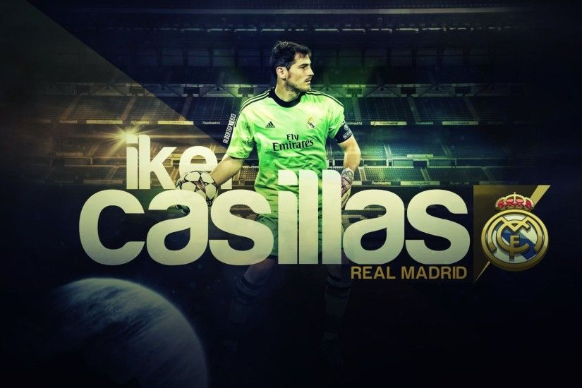 HD Wallpaper: Iker Casillas - My favorite goalkeeper that made history at  Real Madrid