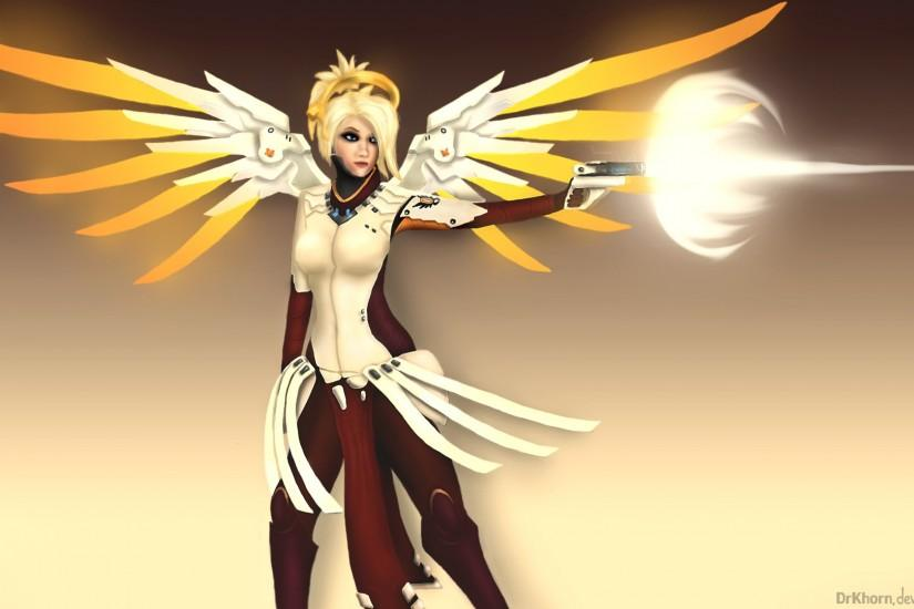 free download mercy overwatch wallpaper 1920x1080
