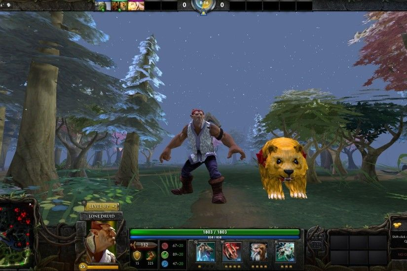 Unique Winnie the Pooh Lone Druid Dota 2 Skins Characters Gamebanana