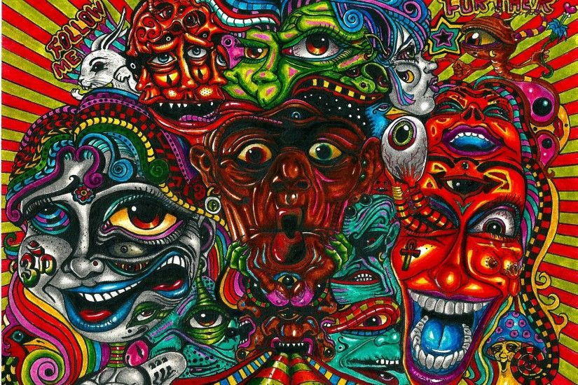 Trippy Acid | Trippy Acid Art Images Pics Wallpapers Pic #14