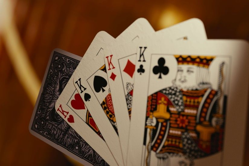 4 kings playing cards