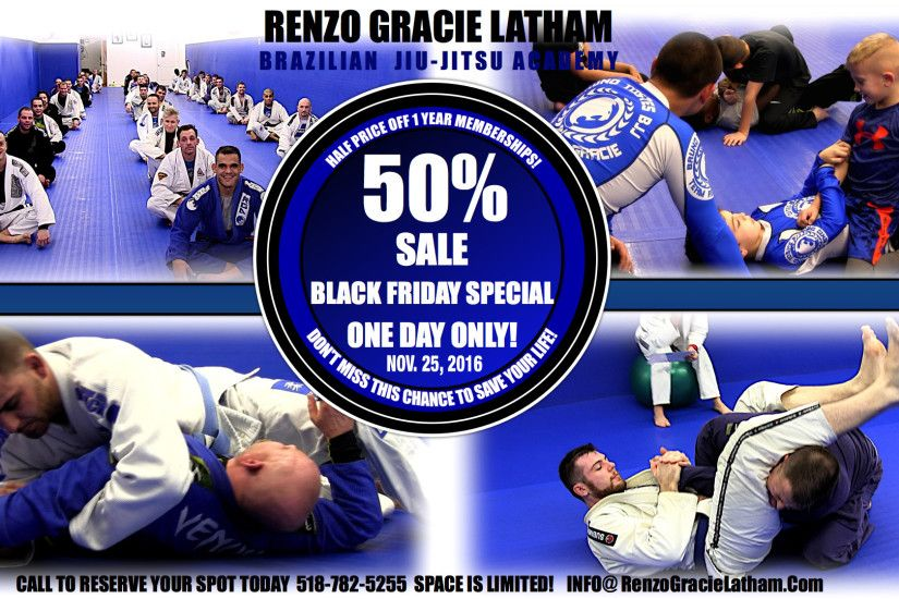 Black Friday Deal – 50% OFF Annual BJJ Memberships