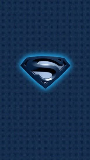 Blue dc comics superman logos logo wallpaper | (105326)