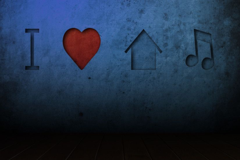 ... I LOVE HOUSE MUSIC by LEO-DESIGNS