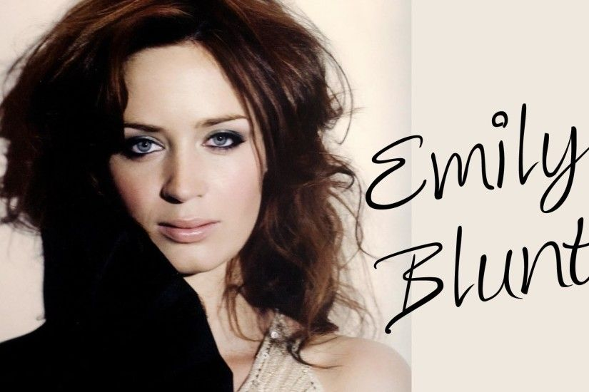 Download Free Emily Blunt Wallpaper.