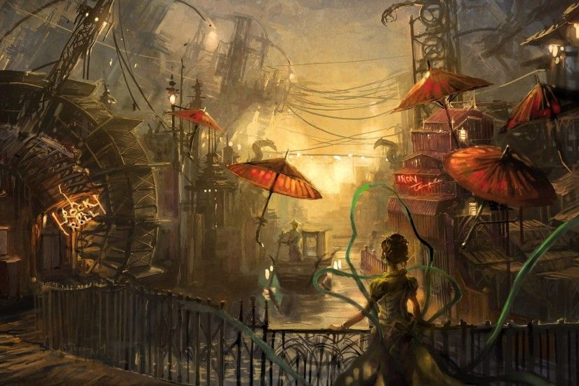 Tags: 1920x1200 Steampunk