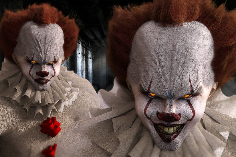1920x1080 Pennywise the Clown Wallpaper - WallpaperSafari It The Clown  Wallpapers - Wallpaper Cave .