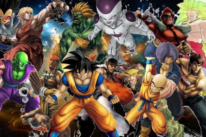 Street Fighter X Dragon Ball Z by Negator7 on DeviantArt