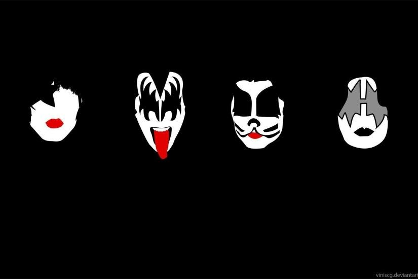 ... Rock Band Kiss Wallpapers 48 images