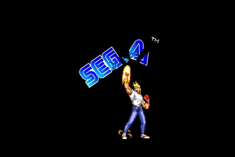 General 1920x1200 Sega Streets of Rage simple background 16-bit Axel Stone