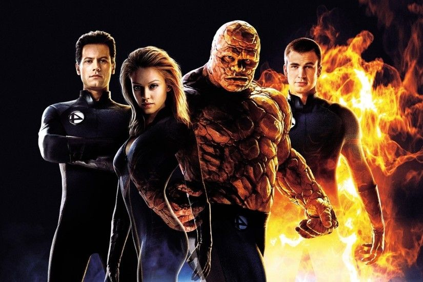 movies, Fantastic Four, Jessica Alba, Invisible Woman, Susan Storm, Human  Torch
