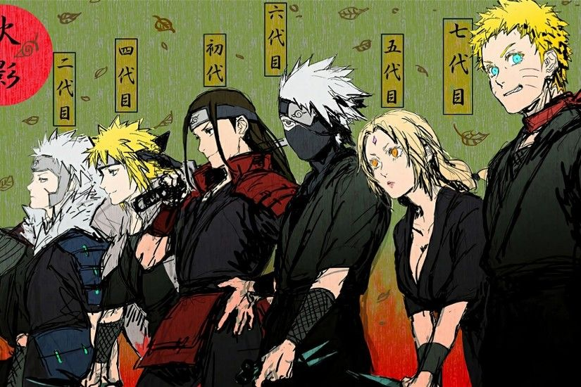 All Hokage Naruto Shippuden Anime Wallpaper #7529