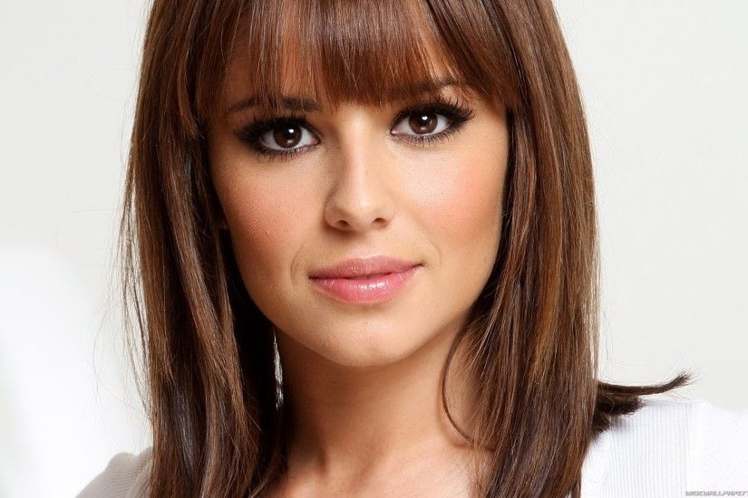 Bangs Brunettes Cheryl Cole Faces Long Hair Women ...