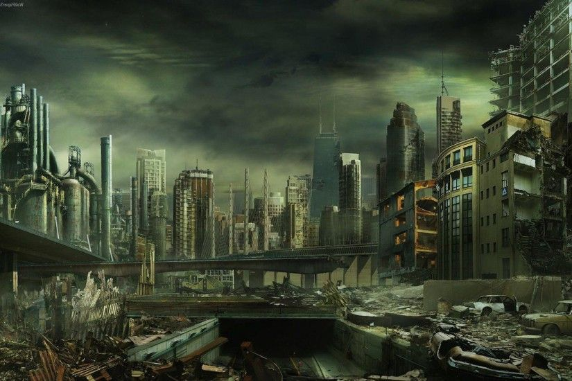 Destroyed City Wallpapers - Full HD wallpaper search