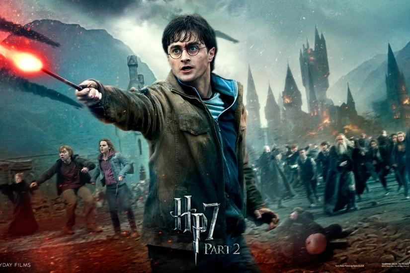 Harry Potter - HP7 p2 - The Guys of Harry Potter Wallpaper (24072942 .