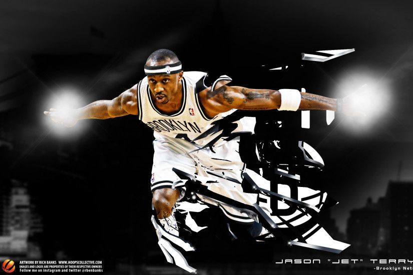 "Jason Terry ""Shattered Skies"" Wallpaper"