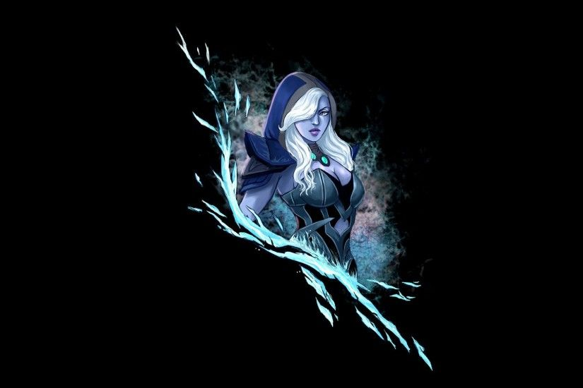 Dota 2 Drow Ranger Warrior Archer Hood Headgear Games Fantasy Art Artwork  Girl Wallpaper At Fantasy Wallpapers
