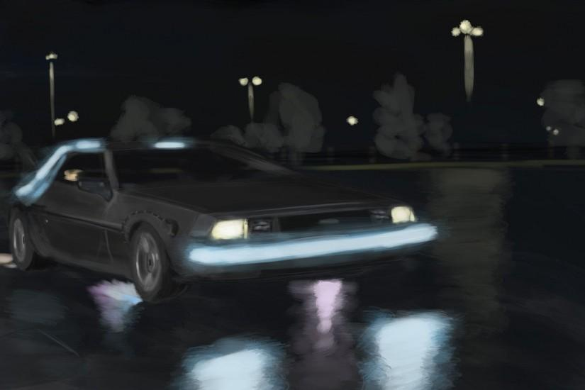 delorean dmc 12 back to the future movie hd wallpaper 1920×1080 9092 .