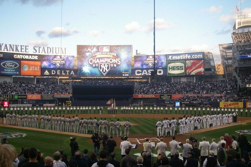 New Yankee Stadium Wallpaper Design Ideas ~ New York Yankees .