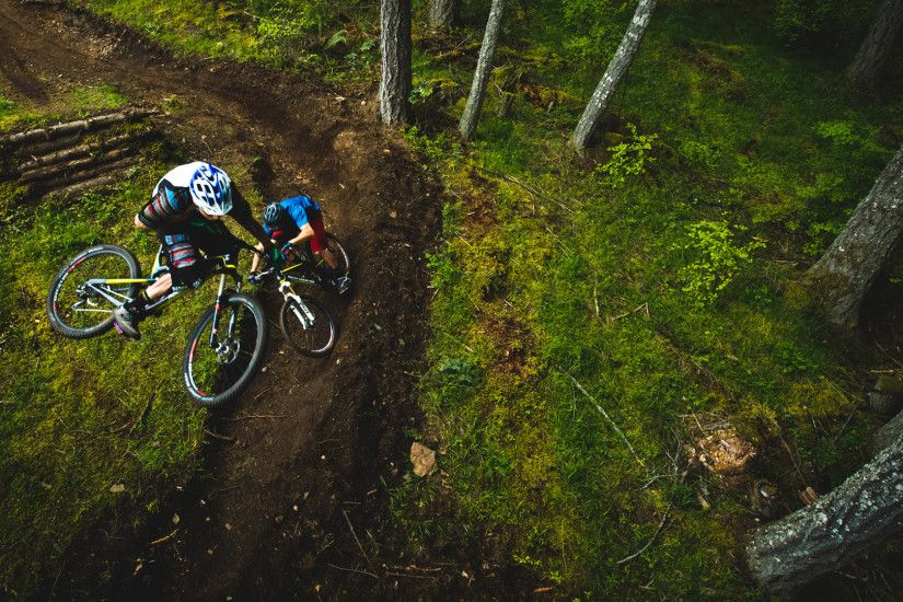 Mountain Bike Trail Wallpaper Background HD Quality Resolution 1920x1080 px  1.93 MB