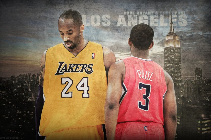 Chris Paul Clippers Wallpaper | Kobe Bryant Vs Chris Paul 1920×1200  Wallpaper