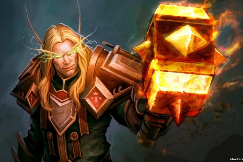 Wallpapers For > World Of Warcraft Wallpaper Paladin